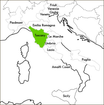tuscany cooking classes schools italy culinary tours home style Tuscan Italy Map in some cases mapping may give clients a general sense of location due to changes in venue please inquire about specific location